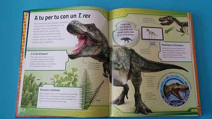 pagine sul dinosauro