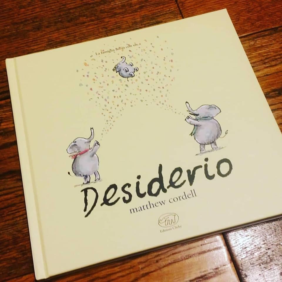 Desiderio, libro di Matthew Cordell