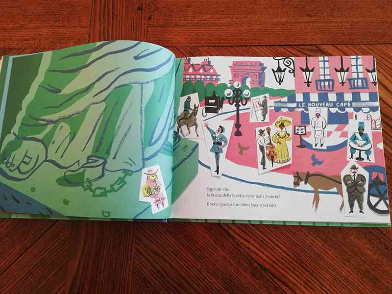 """pagine interne del libro """"Il suo piede destro"""""""
