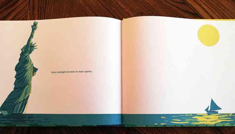 """pagine del libro """"Il suo piede destro"""""""