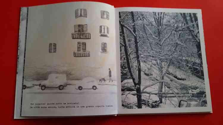pagine interne di Questa notte ha nevicato