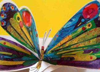 il bruco si trasforma in farfalla