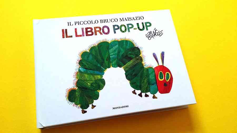 la copertina del piccolo bruco maisazio pop-up
