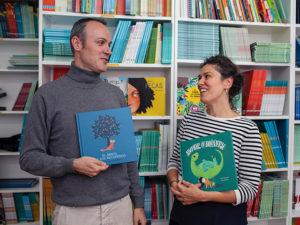 Luis e Miryam di NubeOcho Edizioni