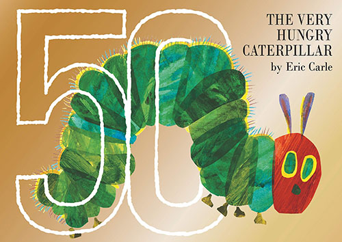 The very hungry caterpillar 50 edition