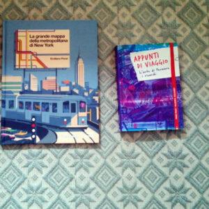 Appunti di viaggio e La grande mappa della metropolitana di new york