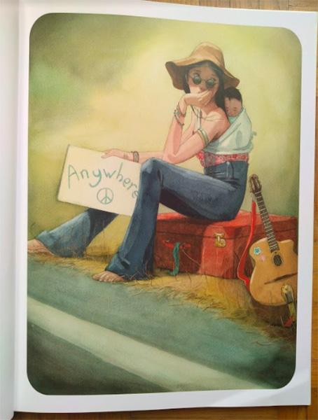 illustrazione interna del libro Mamma