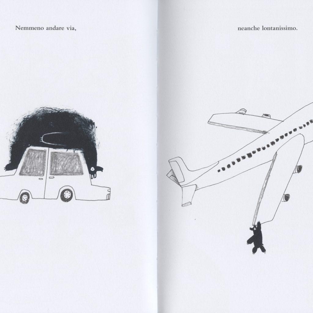 pagine del libro Un orso sullo stomaco
