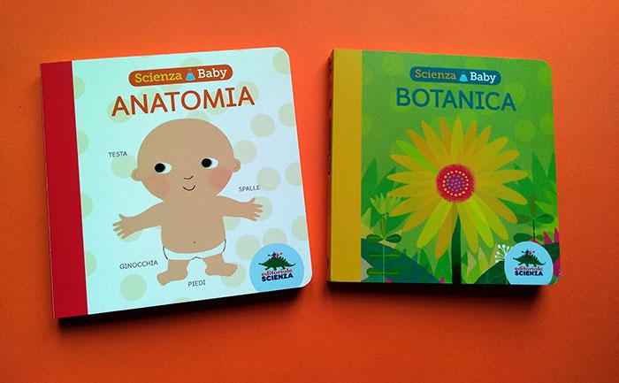 I libri Scienza Baby