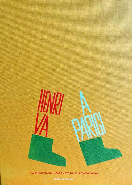 copertina del libro Henri va a Parigi