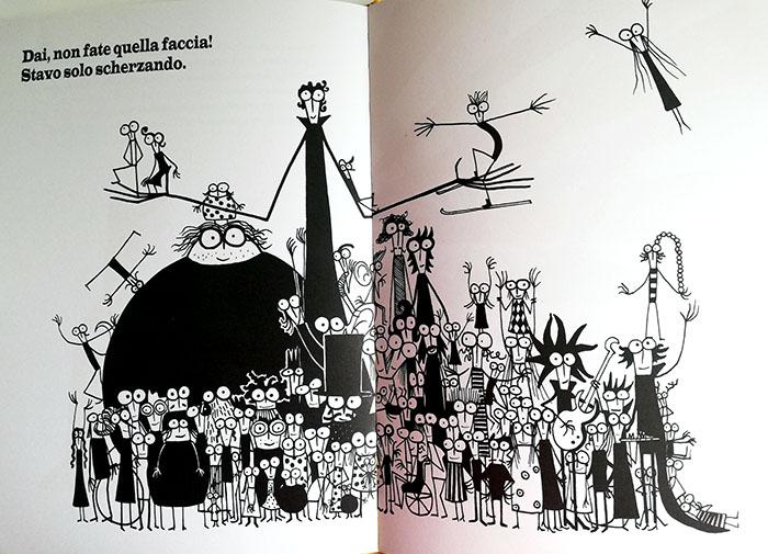 pagine interne Il circo del nano e della donna barbuta