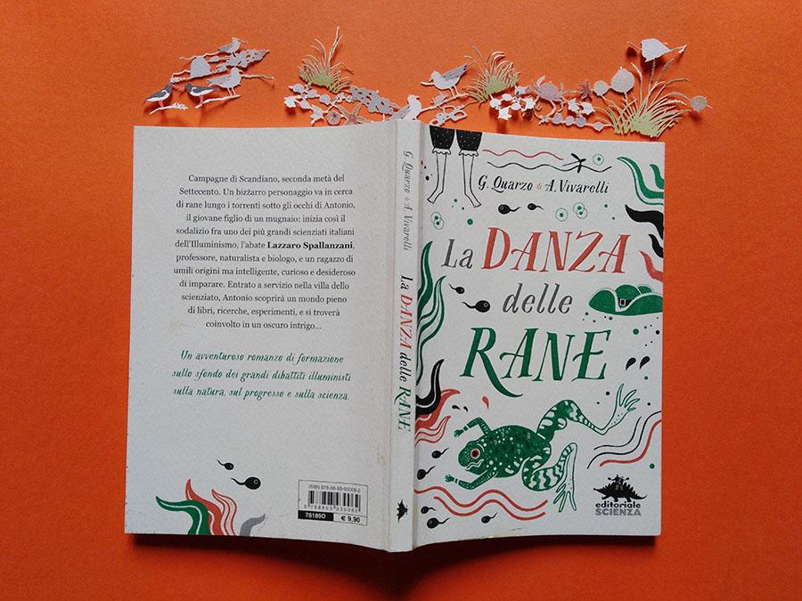 """Il libro """"La danza delle rane"""""""