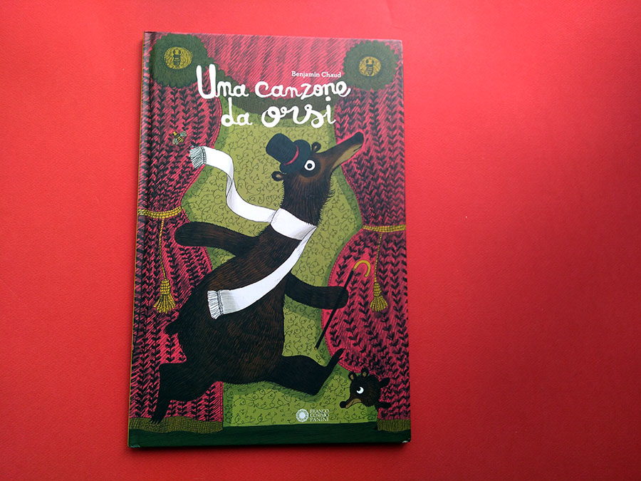 Copertina del libro Una canzone da orsi