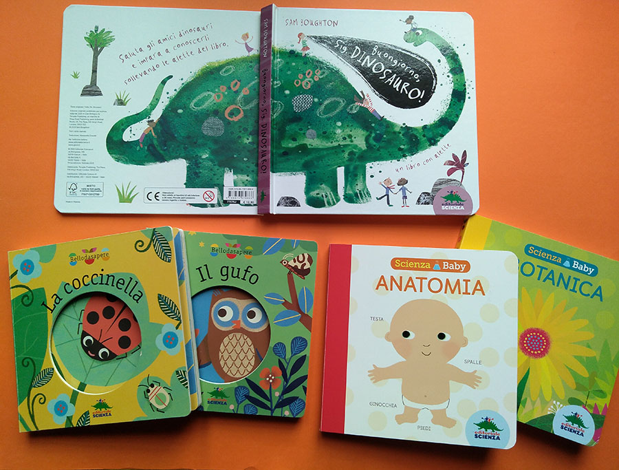 libri scientifici per bambini piccoli