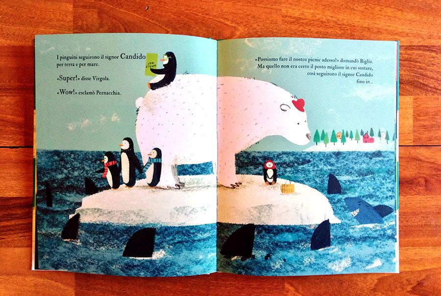 Tutti in viaggio con l'orso polare