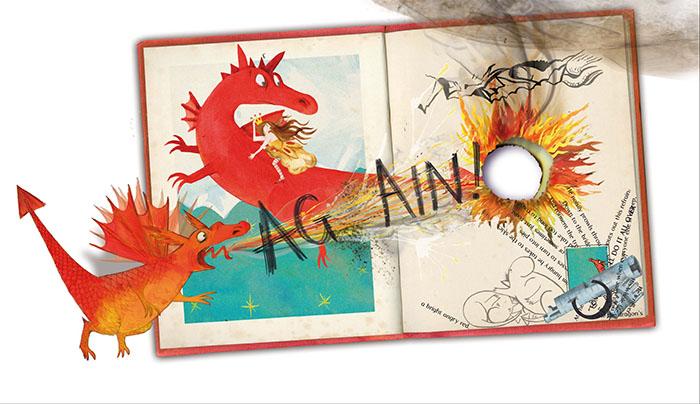 interni del libro Again 4