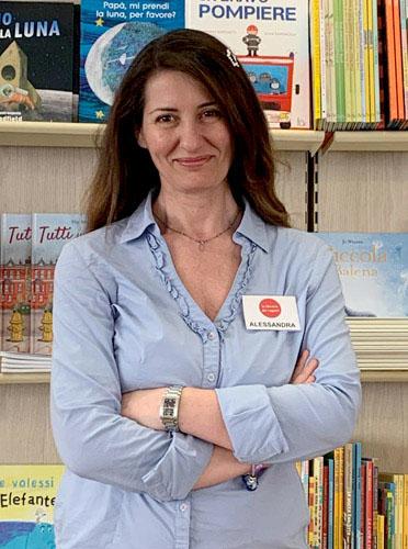 la nuova responsabile delle librerie dei ragazzi