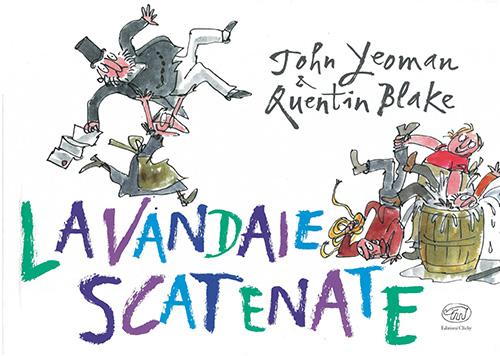 copertina di Lavandaie Scatenate