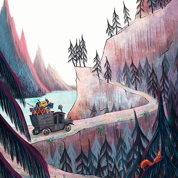 Interni di Mortina e la vacanza al lago mistero