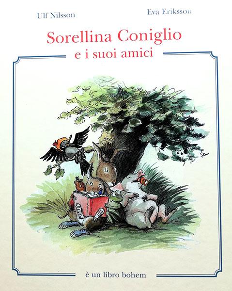 copertina del libro Sorellina coniglio e i suoi amici