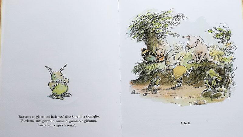 immagini interne di Sorellina coniglio e i suoi amici