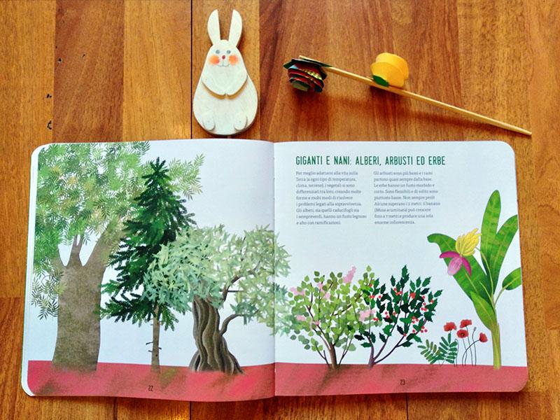 pagine del libro Con le mani nella terra