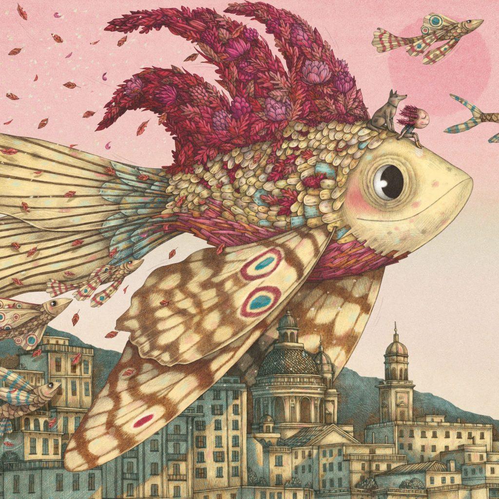 Copertina di Andersen disegnata da Marco Somà