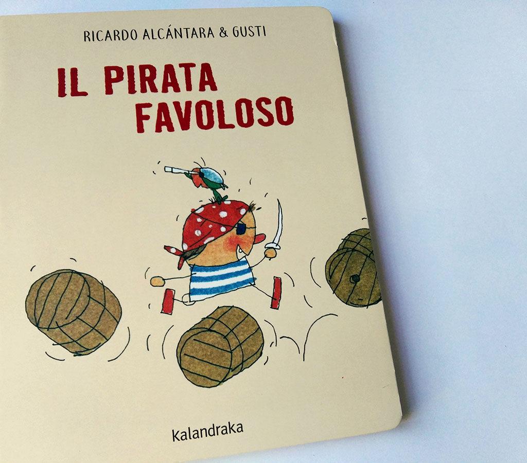 copertina del libro Il pirata favoloso