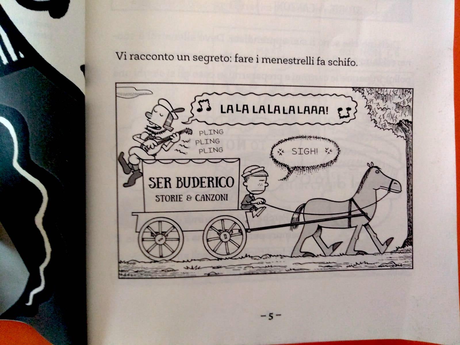 vignetta di Max cavaliere a metà