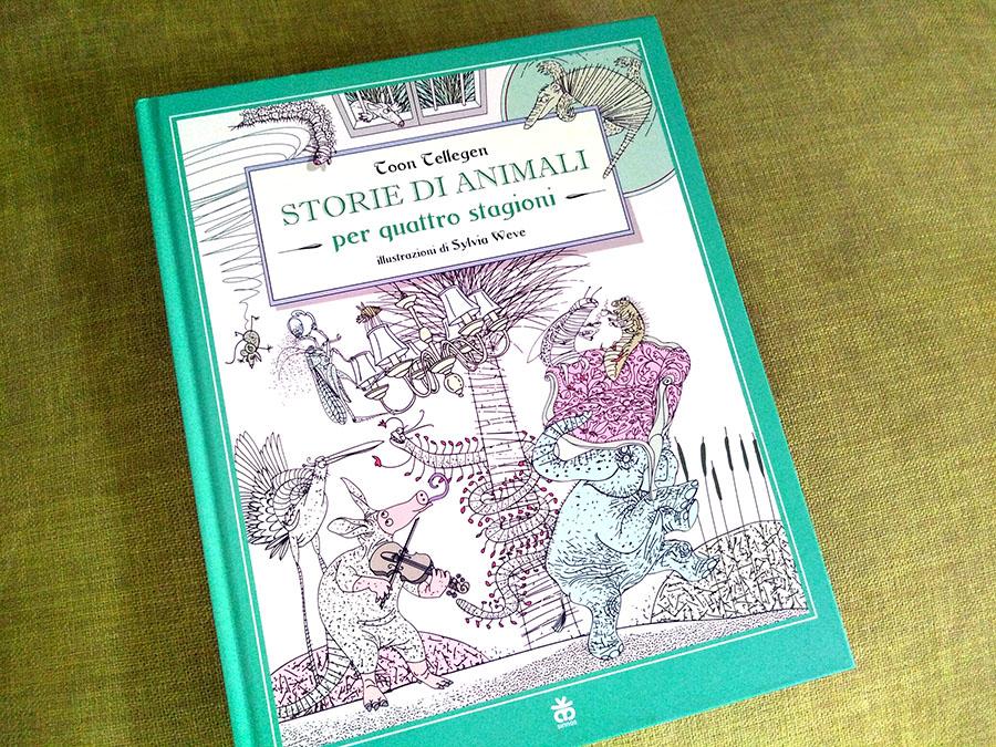 copertina del libro Storie di animali per quattro stagioni