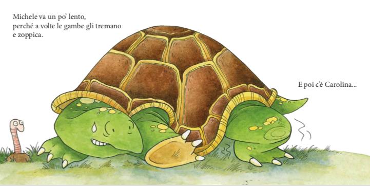 la tartaruga michele