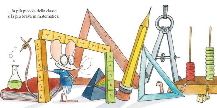 la topolina brava in matematica