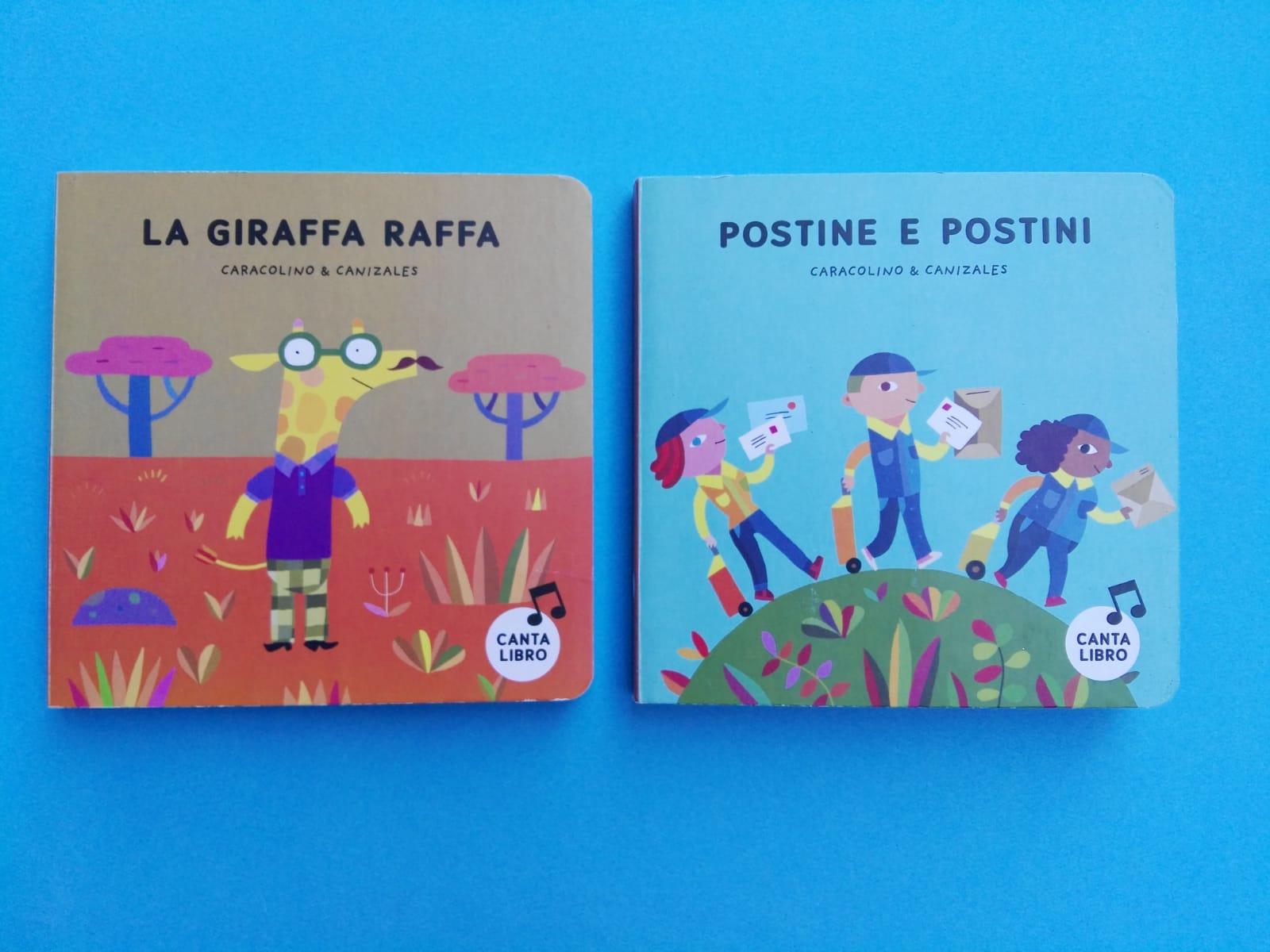 La giraffa Raffa e Postine e postini