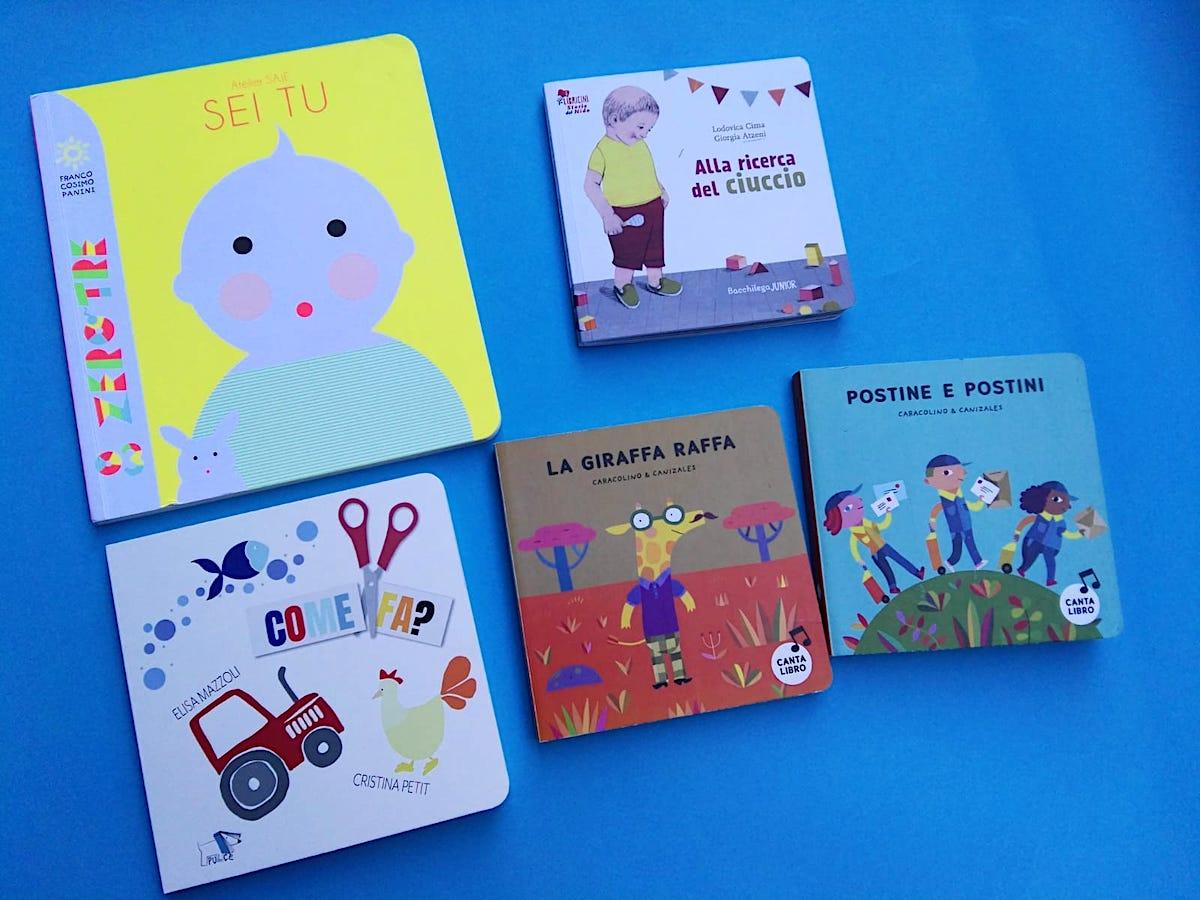 libri per bambini piccolissimi
