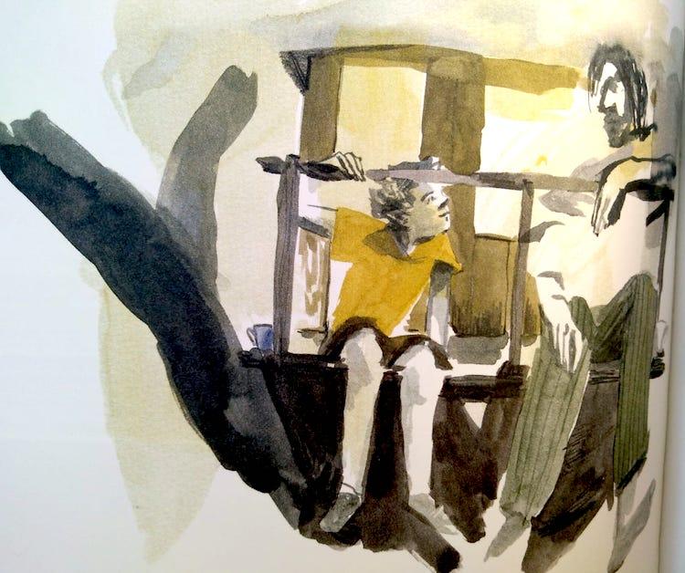 Benjamin e il padre