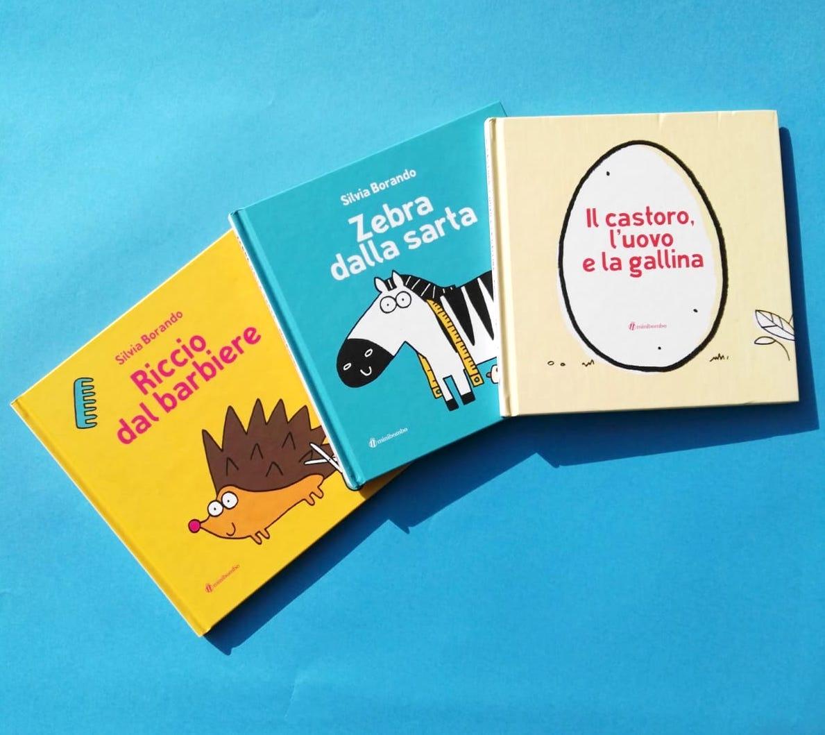 tre libri autunnali di Minibombo