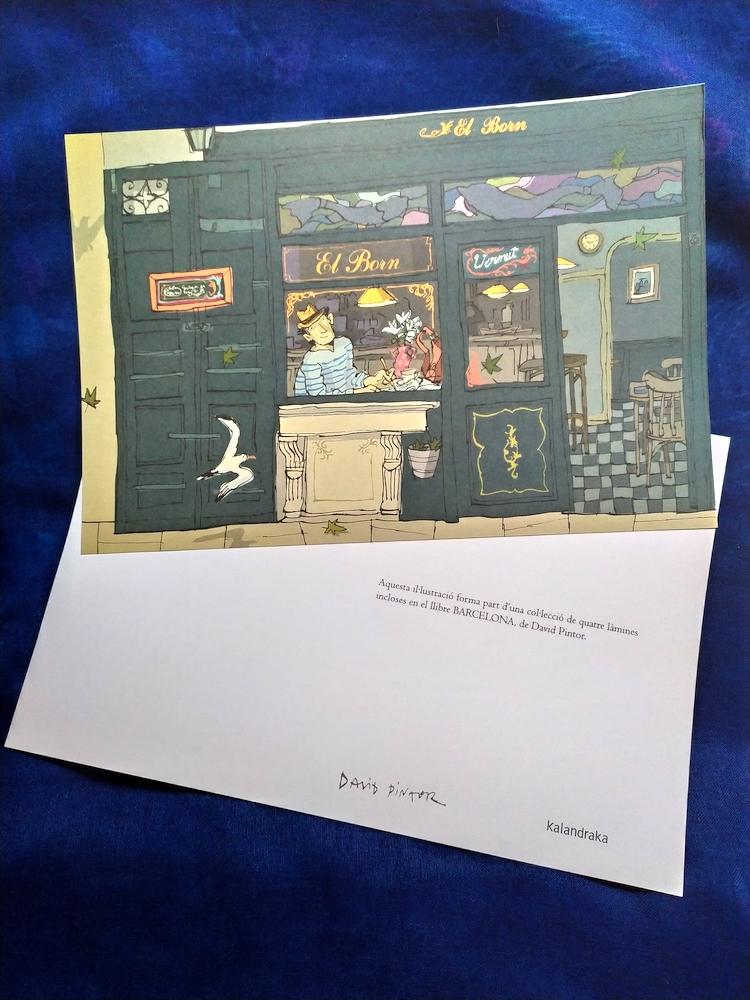 le cartoline presenti nel libro