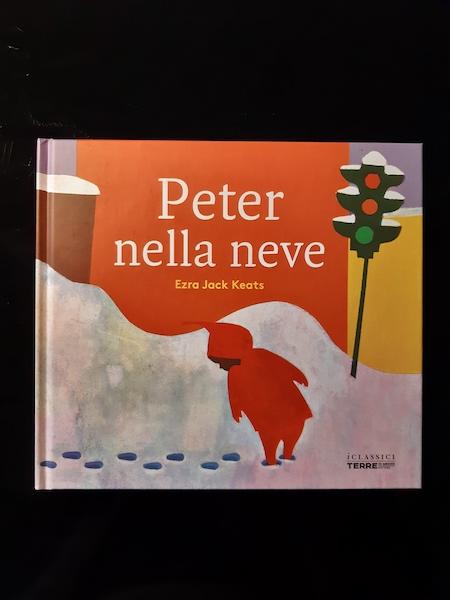 copertina di Peter nella neve