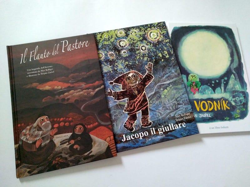 3 libri di Stepan Zavrel