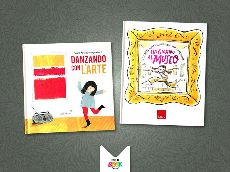 Libri per bambini e arte