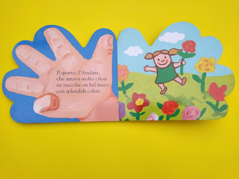 facciate interne di Cinque piccole dita