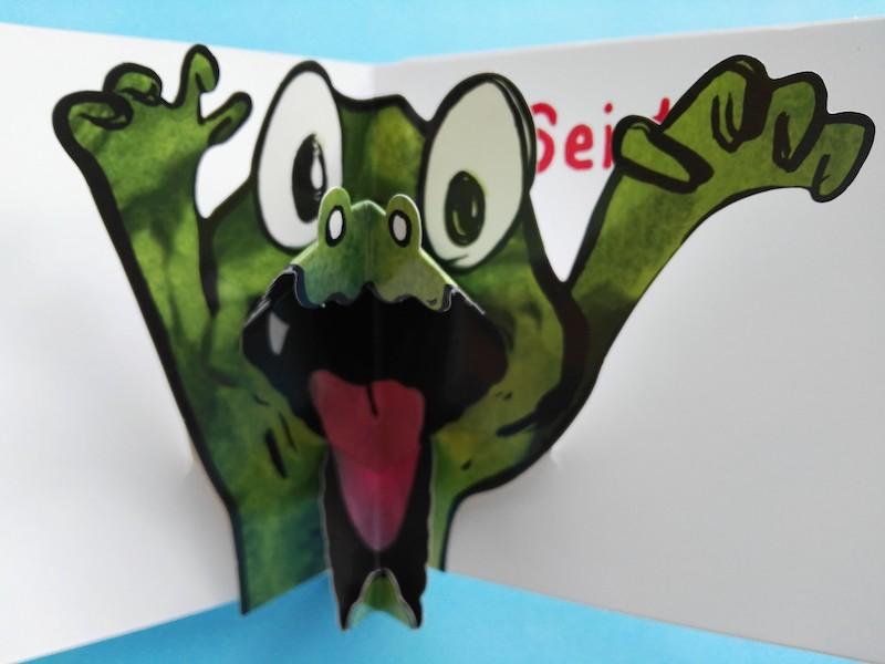 interni di Croc Croc mordicchia