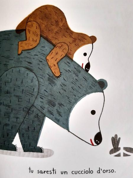 L'orso e il suo cucciolo