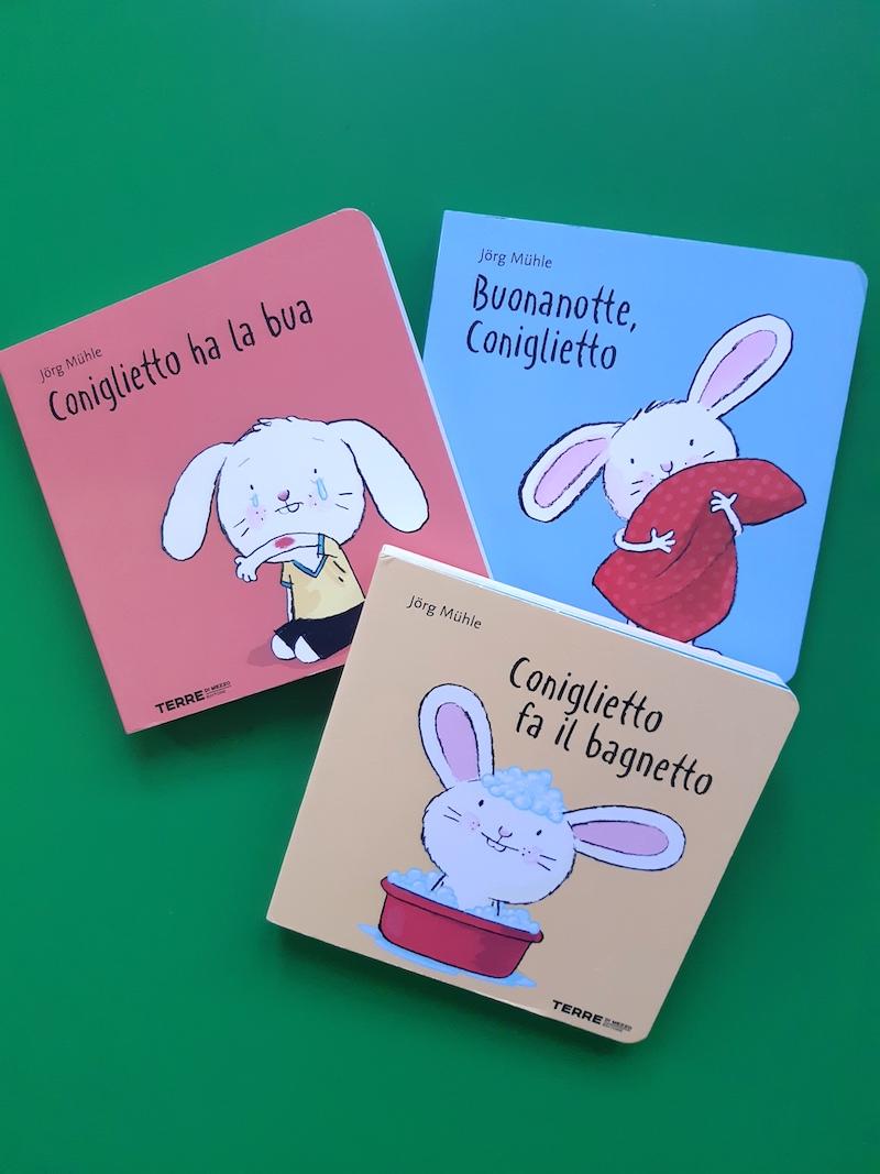 I libri di Coniglietto di Jorg Muhle