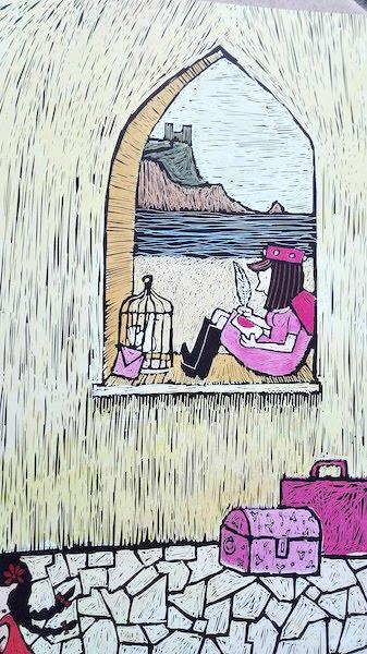 la principessa alla finestra