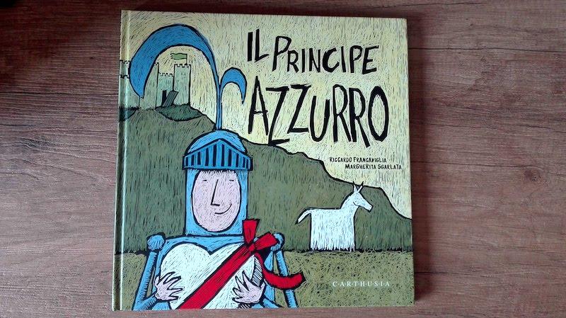copertina de Il principe azzurro La Principessa Fuxia