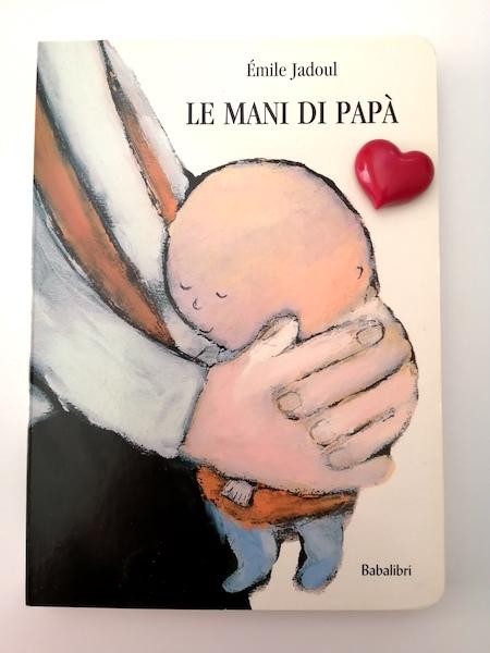 copertina del libro le mani di papà