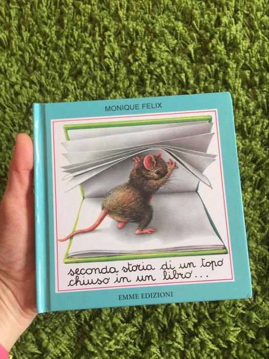 Seconda storia di un topo chiuso in un libro-Monique Felix-Emme Edizioni1