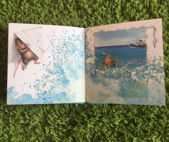 Seconda storia di un topo chiuso in un libro-Monique Felix