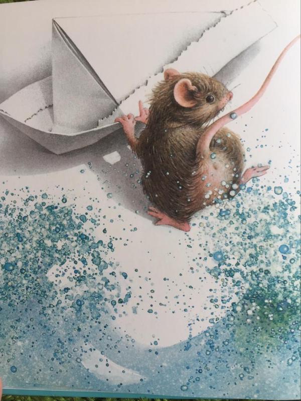 il topolino sulla barchetta